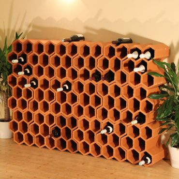 Wine rack ARLES made of clay - min. order 30 pieces